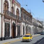 Auf den Straßen Arequipas