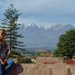 Blick auf den Vulkan Misti