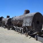 Eisenbahn Friedhof Uyuni