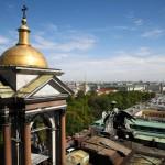Über den Dächern von St. Petersburg
