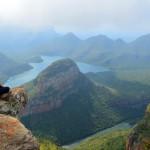 Panoramablick auf den Blyde River Canyon