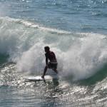 Surfen in Durban Südafrika
