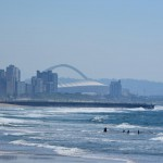 Waterfront Panorama Durban Südafrika