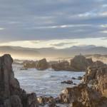 Buffel Bay bei Sonnenuntergang - Gardenroute Südafrika