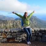 Auf dem Tafelberg in Kapstadt