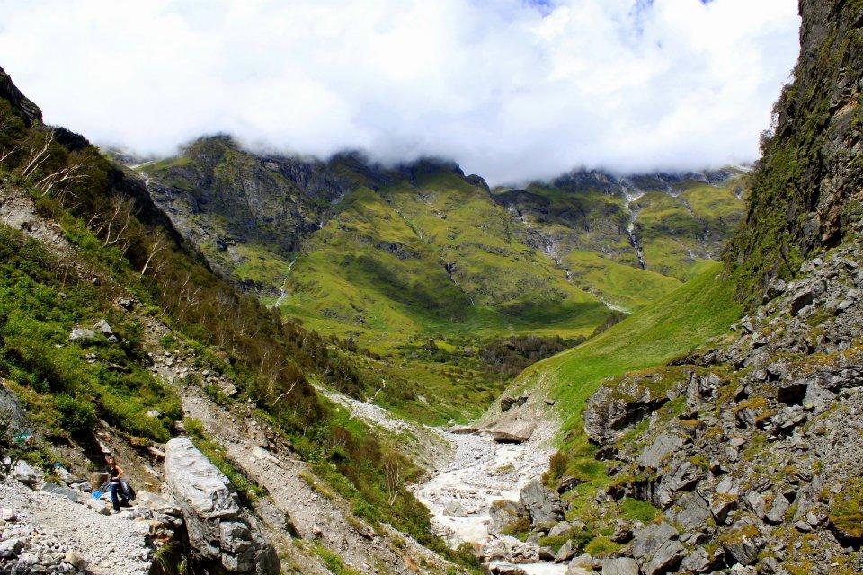 """Das Highlight im indischen Himalya: Das """"Tal der Blumen""""."""