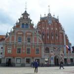 Schwarzhäupterhaus in Riga: Das Wahrzeichen der Stadt.