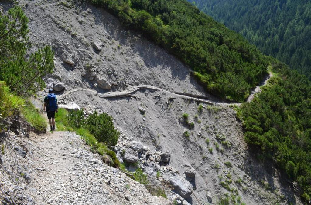 Höhenweg Hermine: Schmale Wege, tiefe Schluchten.