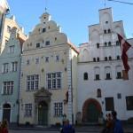 Die Drei Brüder: Älteste Häuser in Riga.
