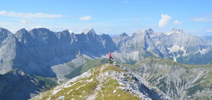 Eine Tour für Gipfelstürmer: Hüttenwanderung Karwendel.