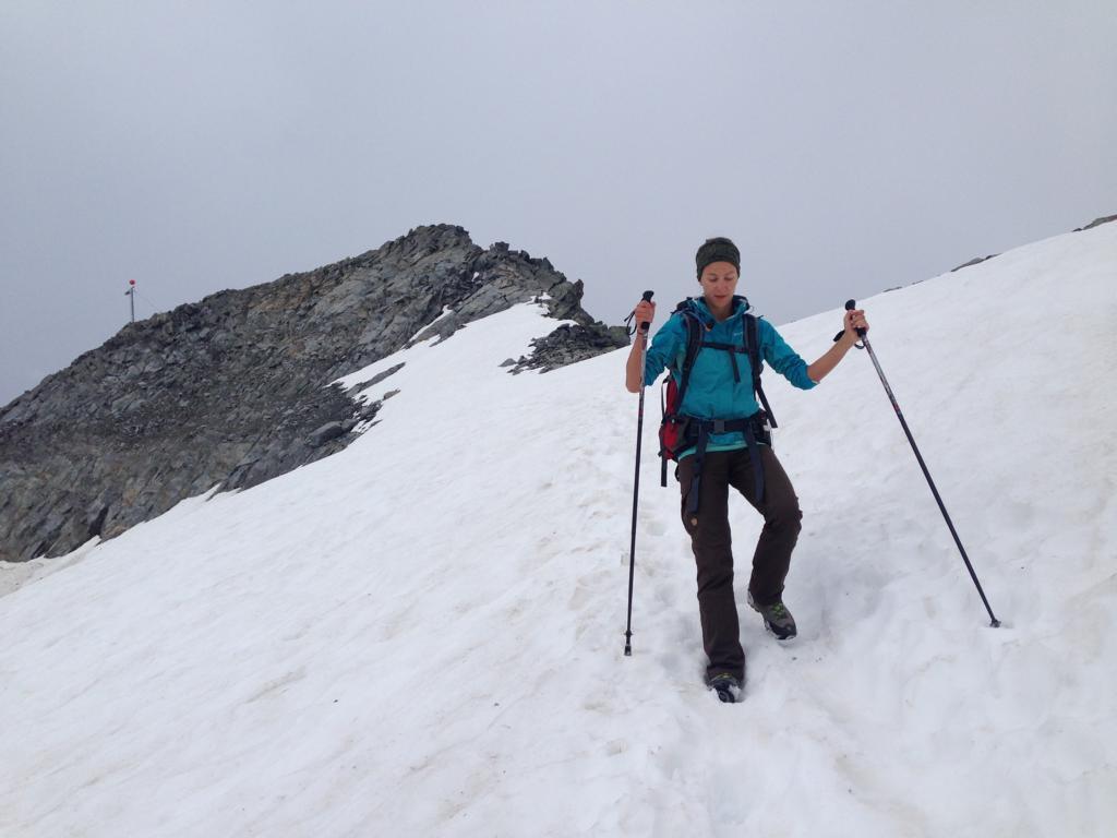 Zu Fuß über die Alpen