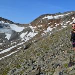 Über Stock, Stein und Schnee: Zu Fuß über die Alpen.