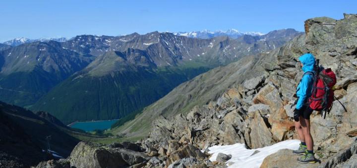Zu Fuß über die Alpen: Kurz vor dem Ziel Vernagt.