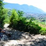 Zu Fuß über die Alpen: Endspurt nach Meran.