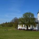 Adelgrundis-Kapelle auf dem Plateau des Staffelbergs.