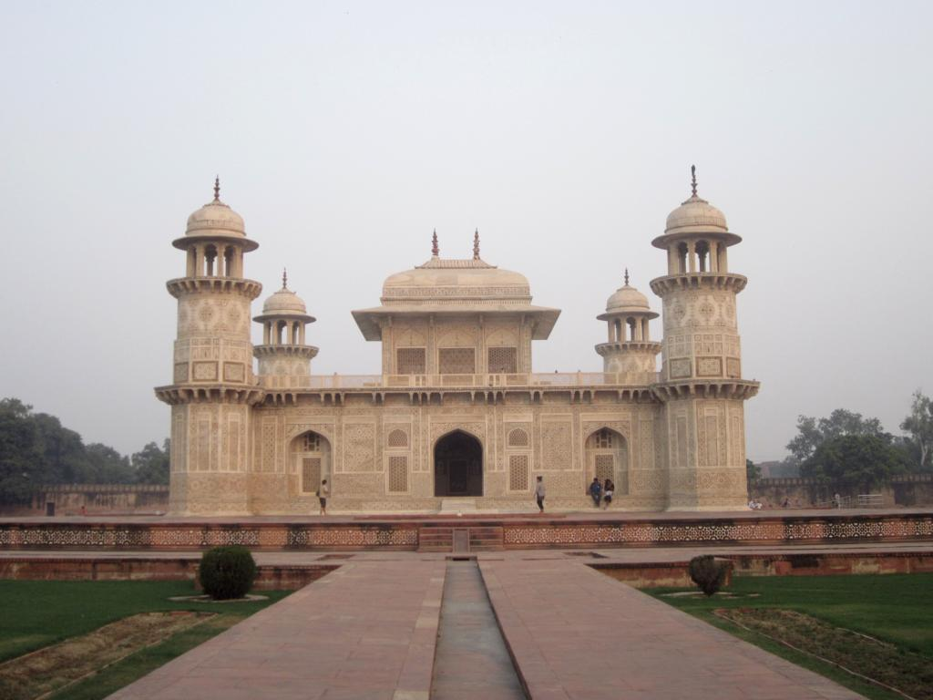 Mini Taj Mahal in Agra: Ein lohnenswerter Abstecher.