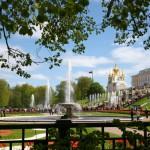 Idylle im Peterhof