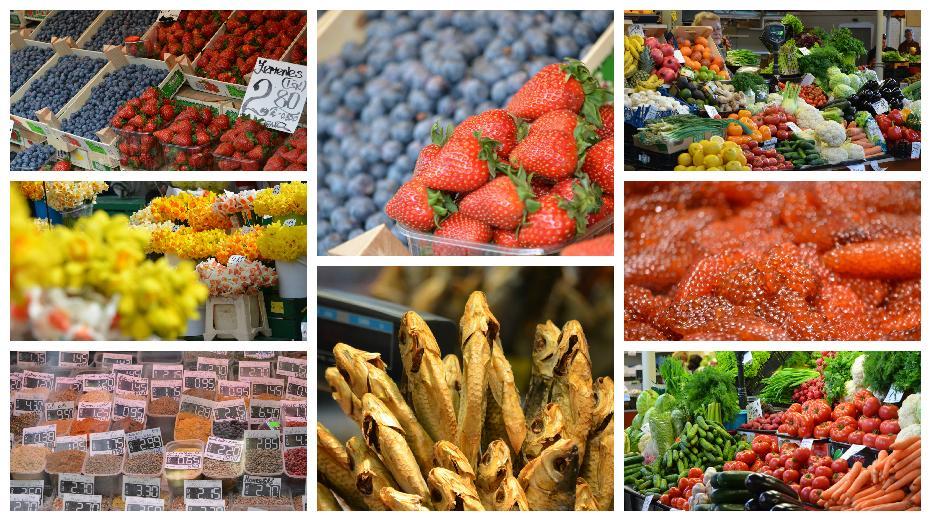 Der Zentralmarkt in Riga: Im Probier-Paradies aus Obst, Gemüse, Fisch und Käse.