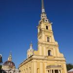 Peter Paul Kathedrale in St. Petersburg