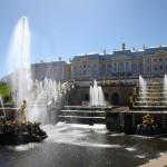 Peterhof: Die Sommerresidenz des Zaren.