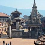 Der Durbar Square in Bhaktapur