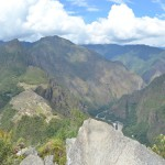 Panoramablick auf Machu Picchu vom Wayna Picchu.