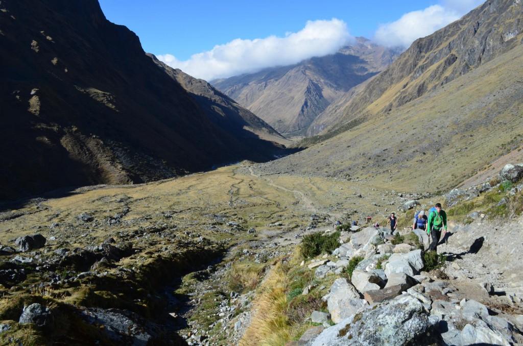 Trekking in Peru: Über 4.000 m wird die Luft schon verdammt dünn!