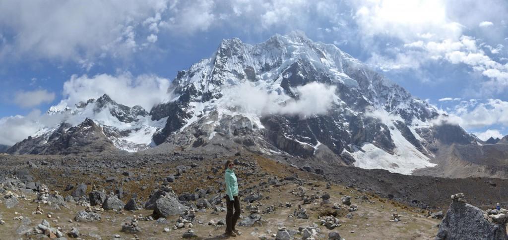 Höchster Punkt auf dem Salkantay Trail: Abr Salkantay auf 4.650 m.