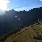 Machu Picchu bei Sonnenaufgang: Vielen Dank Wettergott!