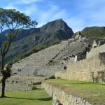 Machu Picchu am Morgen: Noch bevor die Touristenströme über die Inka Ruinen einbrechen.