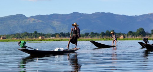 Highlight Myanmar: Der Inle See.