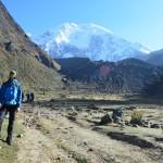 Aufstieg zum Abra Salkantay über den Salkantay Trail in Peru.