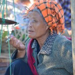 Marktfrau am Inle See