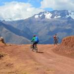 Panorama Mountainbiketour in den Anden