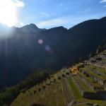 Sonnenaufgang über Machu Picchu