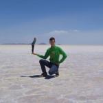 Spaß in der Salzwüste