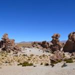 Steinpark in Bolivien