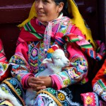 Straßenszene Peru