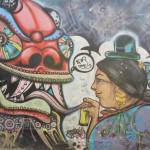 Streetart von La Paz