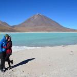 auf 5.000 Meter an der Laguna Blanca