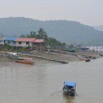Boote in Kampung Hijrah