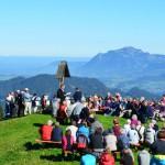 Berg-Gottesdienst Allgäu