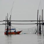 Fischernetze bei Bako