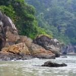 Felsenküste vom Bako Nationalpark