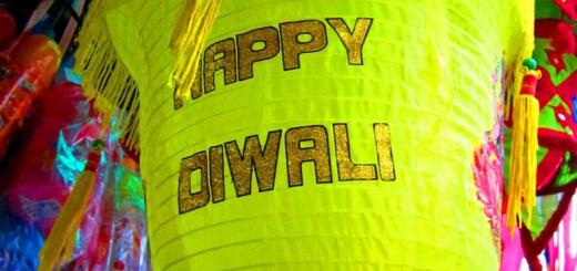 Indien feiert das Lichterfest Diwali