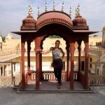 Pavillion im Hawa Mahal