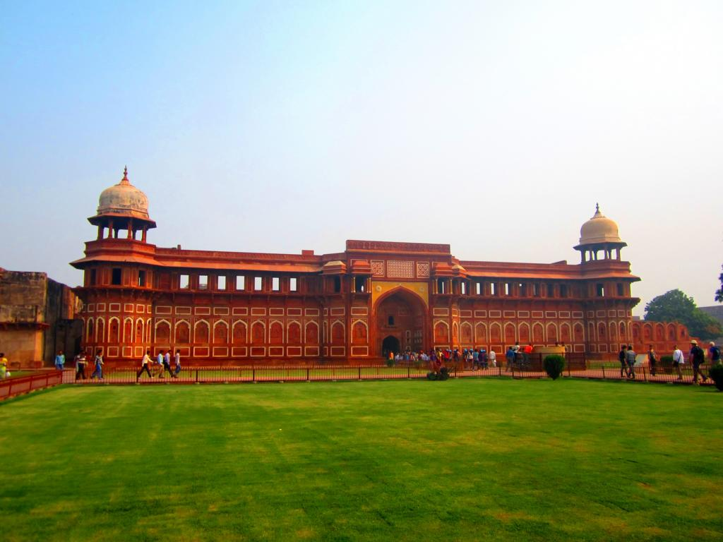 Das Rote Fort in Agra: Geruch inklusive!