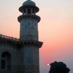 Sonnenuntergang Mini Taj Mahal
