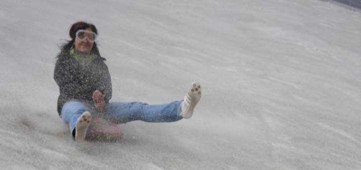 Sandspaß am Monte Kaolino