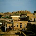 Blick vom Hotelzimmer auf das Jaisalmer Fort